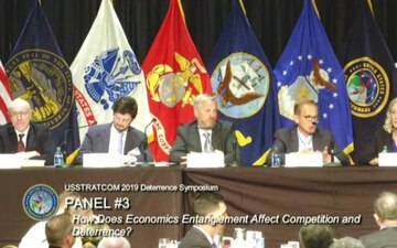 USSTRATCOM Deterrence Symposium 2019 - Panel 3: How Does Economic Entanglement Affect Competition and Deterrence?