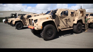 3rd Marine Regiment Motor-T Joint Light Tactical Vehicle