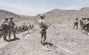 30th Brigade Prepares for Deployment - National Training Center (NTC)