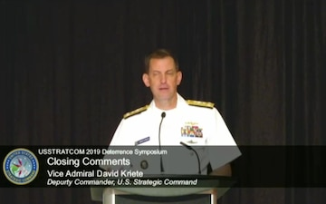USSTRATCOM Deterrence Symposium 2019 - Closing Remarks