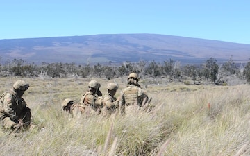 100th Battalion, 442nd Infantry Regiment fire 60mm mortar rounds