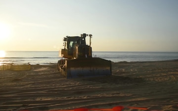 Virginia Beach oceanfront renourishment continues