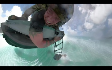 Waterborne Operations with CH-47 Chinook Helicopter