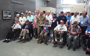 "WWII 12th Armored Division ""Hellcats"" visit NORAD and U.S. Northern Command"