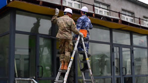 Pac Angel 19-3 Civil Engineers Repair Mongolian School