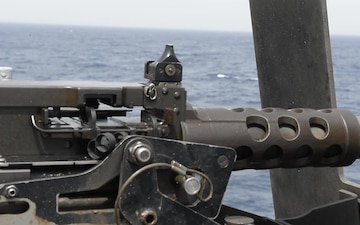50 Cal Shoot Aboard USS Harpers Ferry