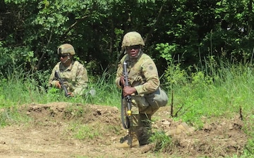311th ESC Soldiers Sweat in Peace to Always Be Prepared