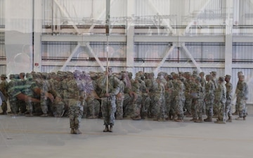 29th Infantry Brigade Combat team Welcome Home Ceremony