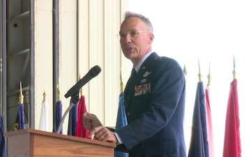 154th Wing Change of Command