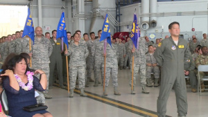 154th Wing Change of Command Ceremony