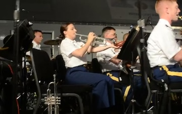 New York National Guard Band Soldiers Perform on Long Island