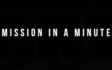 Mission in a Minute S02E03: Security Forces Investigations