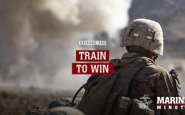 Marine Minute: Train to Win