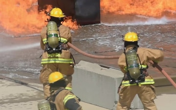 Vigilant Guard: Civilian and Military Firefighters Train Together