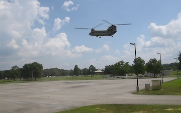 Vigilant Guard 19-4 Distinguished Visitors Helicopter Arrival