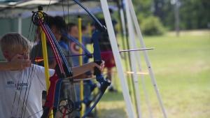 20th FSS Hosts Archery Camp