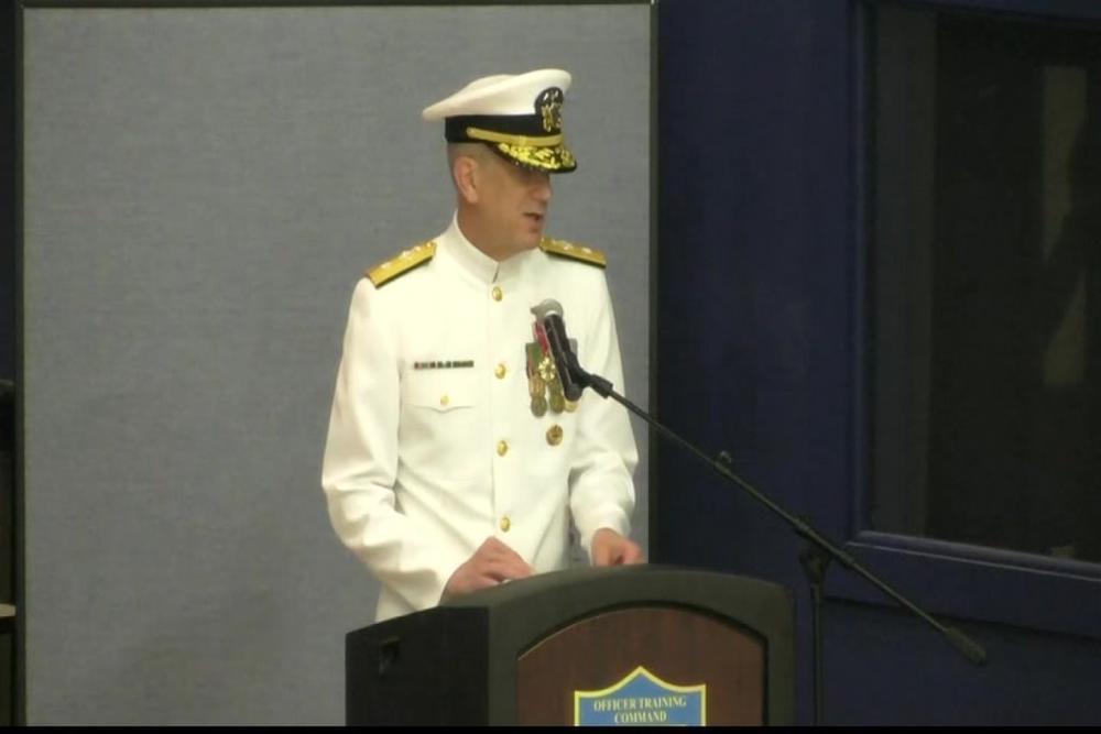 DVIDS - Video - Navy Officer Development School Graduation