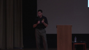 CSM Thetford Briefs Cannon AFB Air Commandos on his Time in the US Army Special Forces