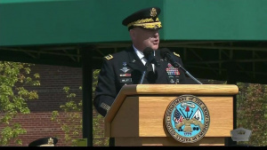 Uniformed Army Leadership Changes Hands