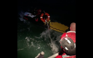 Coast Guard Station Bodega Bay and Marin County Fire Department conduct interagency rescue