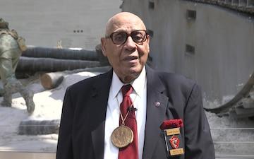 Master Gunnery Sgt. Carroll Braxton (Ret.) Interview