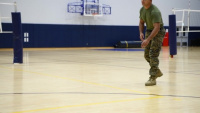 MCAS Iwakuni kids improve volleyball skills during camp (Package/Pkg)