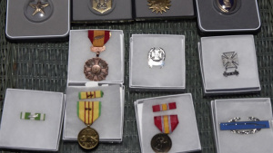 Local Vietnam Veteran Presented with New Medals to Replace Those Stolen Years Ago
