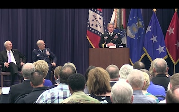 Arkansas National Guard's Adjutant General Change of Command