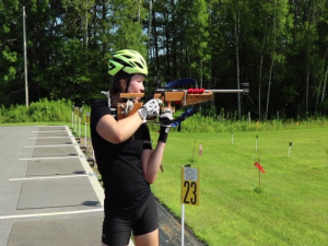 Summer Biathlon Novice Training Camp