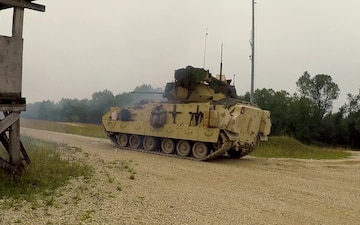1/4 Cav Live Fire - Combined Resolve