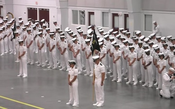 Naval Reserve Officers Training Corps New Student Indoctrination Graduation