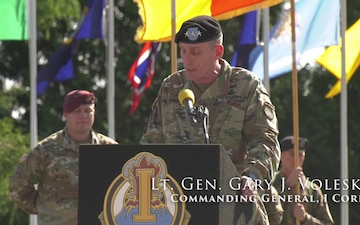 I Corps Welcomes CSM Pospisil