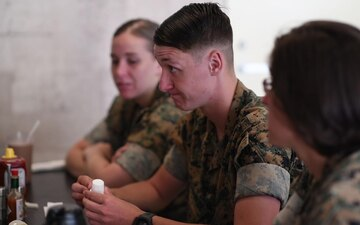 Marine dedicates her life to family, the Marine Corps(Package/Pkg)