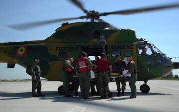 Carpathian Summer 2019 - Aeromedical Evacuation, B-Roll