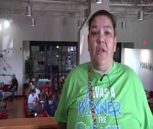 Army Reserve IRT mission helps children of Sioux nation near Spirit Lake, North Dakota