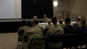 JBSA-Fort Sam Houston-502d Leadership Host Meeting with Dorm Residents