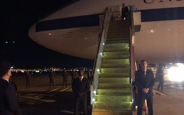 Secretary Esper Arrives in Australia