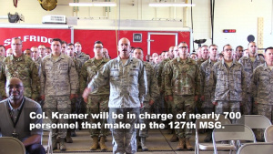 127th Mission Support Group Change of Command