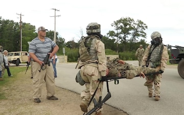 Army Reserve Unit from the Magnolia State Conducts Intense Training at Fort McCoy