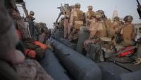 11th MEU Maritime Raid Force VBSS Training