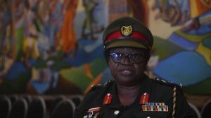 Africa Endeavor 2019 - GAF Brig Gen Constance Edjeani-Afenu