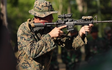 U.S. Marines participate in CARAT Indonesia