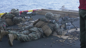 CLB-31 Marines train for CASEVAC operations