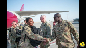 103d Sustainment Command: Welcome To Kuwait