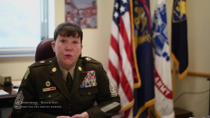 Michigan's State Command Sgt. Maj. Farrell Discusses Suicide Awareness