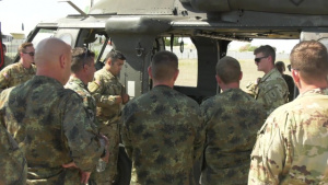 U.S. Army Soldiers train with Bulgarian Special Forces
