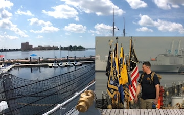 A preview of the 19th Annual CPO Heritage Days aboard the Battleship Wisconsin