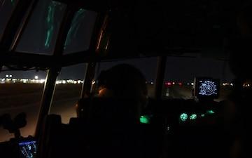 C-130 Taxi, Take-off, in flight B-Roll