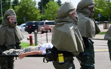 31st MDG In-Place Patient Decontamination Training
