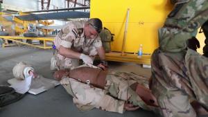 244th ECAB train Iraqi Army Aviation Medics